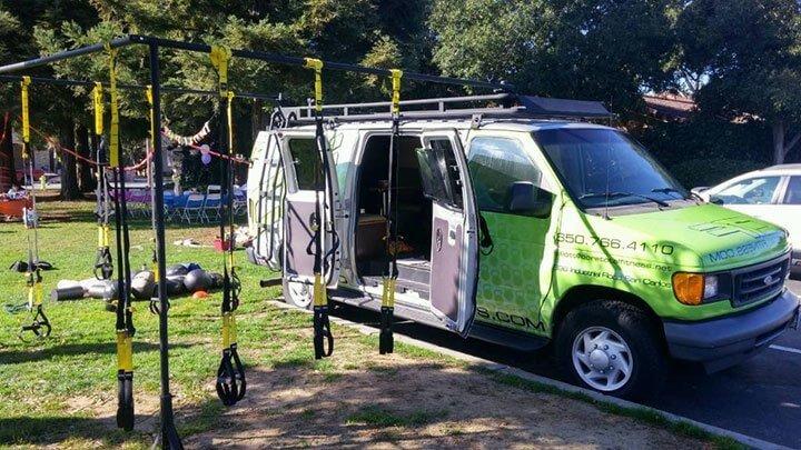 mobile personal training van